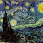 painting by vincent van gogh titled starry night
