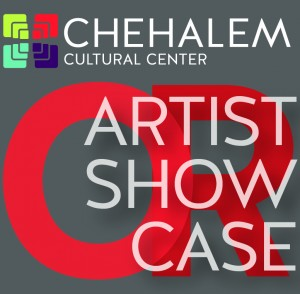 logo for chehalem artist showcase